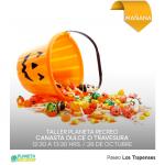 Taller para crear tu propia canasta de dulces para Halloween