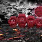 Casio lanza la colección Red-Out por el 35 aniversario de G-SHOCK