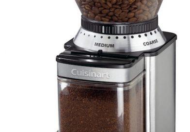 Cuisinart estrena potente molinillo de café