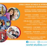 Feria Cursos de idiomas & intercambios de colegios en el extranjero
