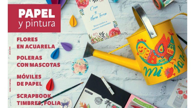 Revista Materia Prima invita a crear y sorprender con papel y pintura