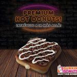 """""""Hot Donuts"""", la novedad en Dunkin' Donuts"""