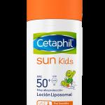 Cetaphil Sun kids 50 +: protección solar para que los niños disfruten seguros
