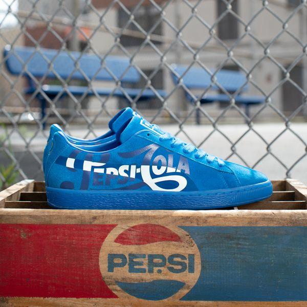 1444c9ac0 Puma y Pepsi celebran los 50 años de la zapatillas Suede - CLUB MAGAZINE