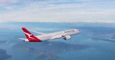Qantas revela los destinos, comidas y películas favoritas de sus pasajeros durante 2018