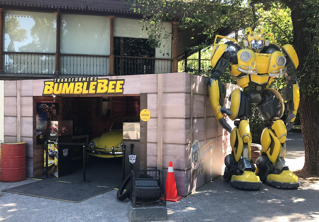 """Figura de 4 metros de """"Transformers Bumblebee""""  impacta en 8° encuentro de ciencia ficción y fantasía"""