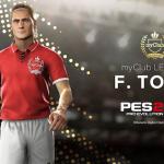 Francesco Totti será una de las nuevas leyendas del PES 2019