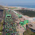 Más de tres mil participantes en corrida MILO Antofagasta
