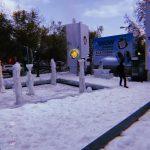 Llega la nieve a Santiago