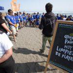 Voluntarios por el Océano logran recolectar 256 KG de residuos de la playa La Puntilla en Pichilemu