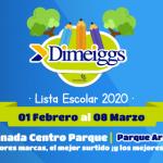 "Escolares 2020: ""Venta Escolar Dimeiggs"" en Centroparque, Parque Araucano."