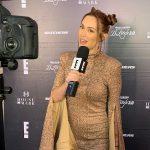 Así fue la visita a Chile de Carla Medina, reconocida TV host de E! Entertainment Latinoamérica