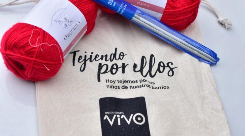 Campaña solidaria entrega 3.000 kits de lana de forma gratuita a quienes quieran tejer bufandas, gorros y calcetines que serán donados a niños vulnerables