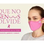 #mascarillarosada la campaña contra el cáncer de mama