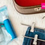 Lo que sí o sí debes llevar en el bolso de viaje para tu cuidado personal y belleza