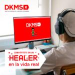 Conviértete en un Healer: Fundación DKMS te invita a salvar vidas con nuevo videojuego