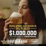 Hay Pega: Cusqueña ofrece 1 millón de pesos para disfrutar los placeres de la vida