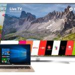 Sácale el jugo a tu Smart TV usándolo como segunda pantalla para trabajar o para estudiar