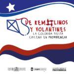 De remolinos y volantines, la colorida fiesta chilena en providencia